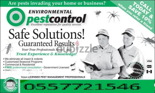 PROFESSIONAL PEST CONTROL SERVICE BY SPECIALIZED TECHNICIAN