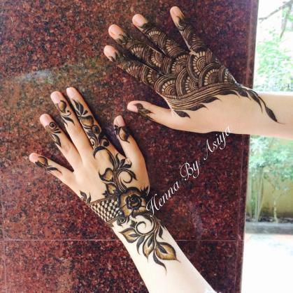 Henna design in Dubai