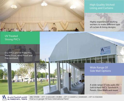 Tents for Rent and Sale- Wedding Tents, Event Tents, Party Tents, Banquet Tents, Marquee Tents, Exhibition Tents, Ramadan Tents, Storage Tents