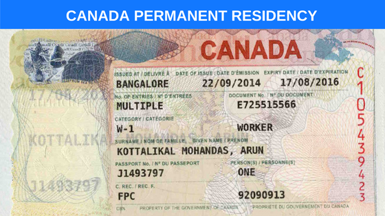 Apply For Canada Permanent Residence Visa