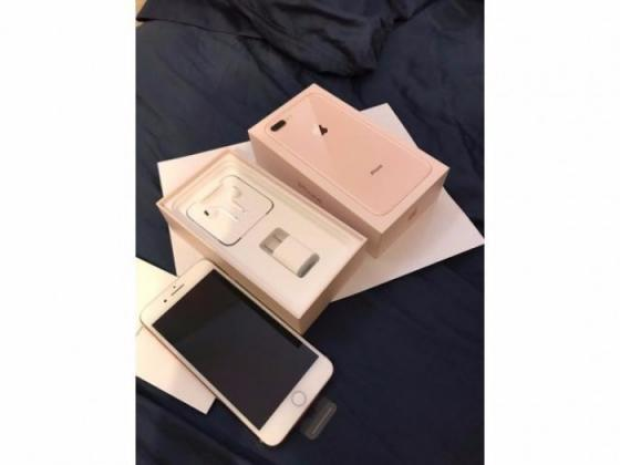 Brand new original  Apple iphone 8/8 plus  gold 256gb
