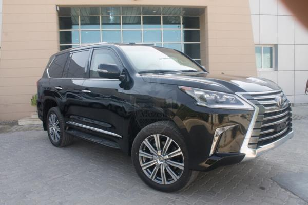 B6 Level Armored LEXUS Lx570 - 5.7L V8 -2018 (سيارة مصفحة)