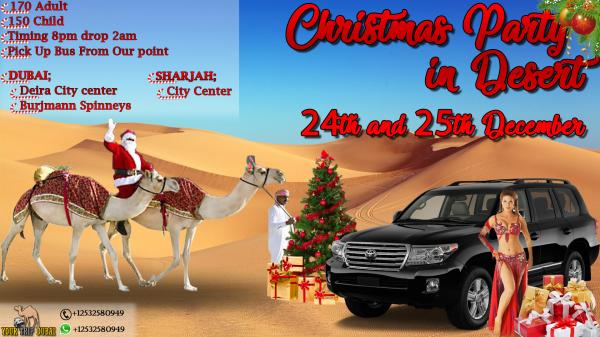 Christmas Party 2017 in Desert, Dubai