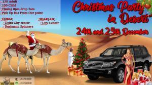 Christmas Party 2017 in Desert, Dubai