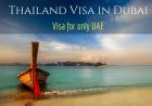 Thailand Visit, Tourist Visa in Dubai
