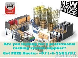 Get the Pallet Shelving System with us Dubai