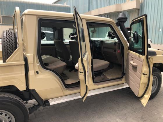 B6 Level Armored Toyota landcruiser 79 pick up -2018 (سيارة مصفحة)