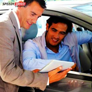 Car Rental Service by Speedy Drive in 60 AED / Day