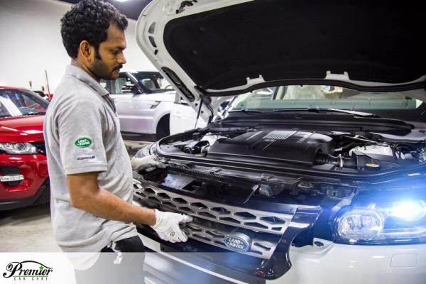 Trusted Range Rover Service Center in Dubai