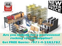 High Quality Adjustable Industrial Warehouse Shelving System Dubai