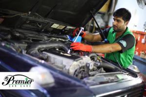 Range Rover Service Center in Dubai