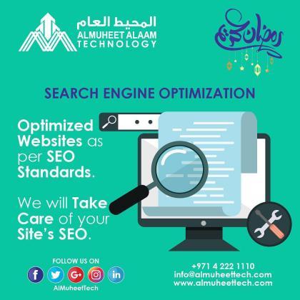 Best SEO Solutions in Dubai, UAE by Al Muheet Al Aam Technology
