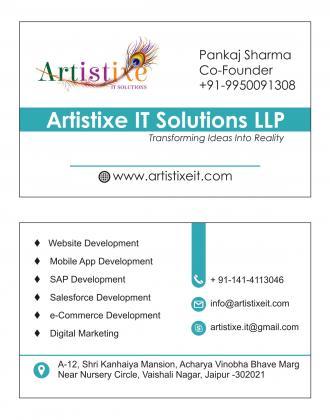 Laravel development Company    Artistixe IT Solutions LLP