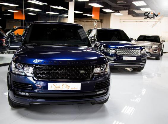 Leading Luxury Cars showroom in Dubai