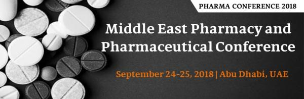Middle East Pharmacy and Pharmaceutical Conference