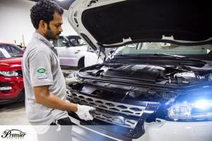 Top Land Rover Service Center in Dubai