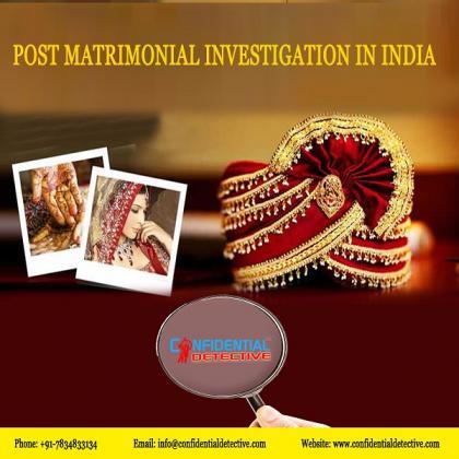 Leading Investigator for Pre Matrimonial investigaion