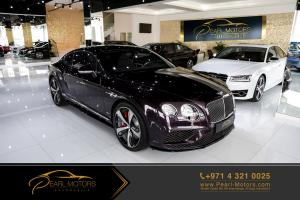Bentley Continental GT Speed 6.0L W12 Twinturbo 2016