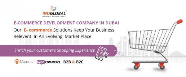 E-Commerce Development Company in Dubai | Indglobal