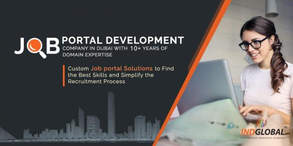 Job Portal Development Company in Dubai   Indglobal