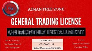 General Trade License On  easy installments -0544472136