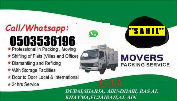 PROFESSIONAL MOVERS AND PACKERS IN RASHIDIYA 0503536196 SAHIL