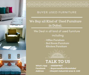 We Buy used furniture  of all Kind from