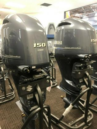 Twin Yamaha 150hp Setup F150XCA LF150XCA 4 stroke Outboard Engines DriveByWire