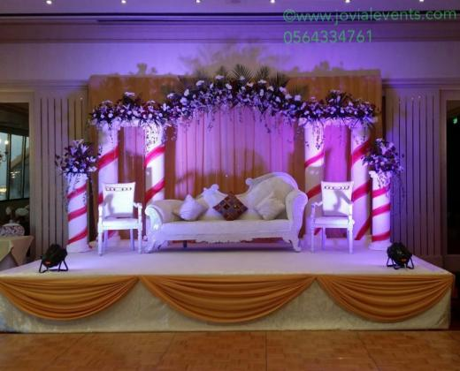 theme Wedding decorations sharjah
