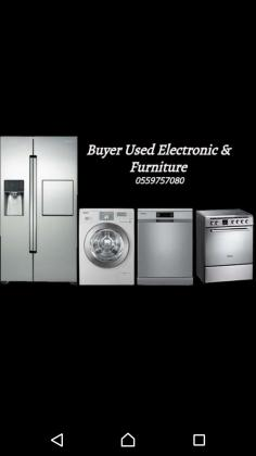 Buyers Used furniture & Electronics   call 055 9757080