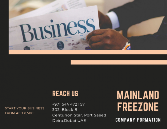 BUSINESS SET-UP IN DUBAI - CALL #0544472157