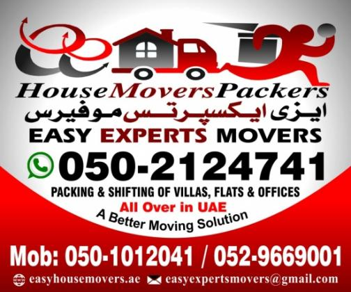 Expert Movers and Packers Abu Dhabi 0502124741 Shakhbout City - Abu Dhabi
