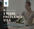 3 years Freelance Visa in UAE - Dial #00971544472157