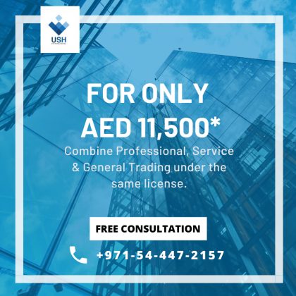 General Trading License at the same cost of a Service/Professional License! #0544472157
