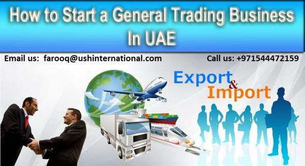 Import Export Trading License in UAE #0544472159