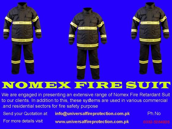 Nomex Fire Suit Available For Sale