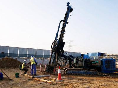 Get in touch with the expert national piling company UAE