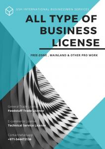 Any Kind of Trade License in Dubai within 2 Days