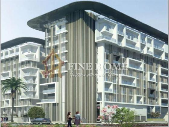 2BR Apartment for sale in Oasis Residence, Masdar City