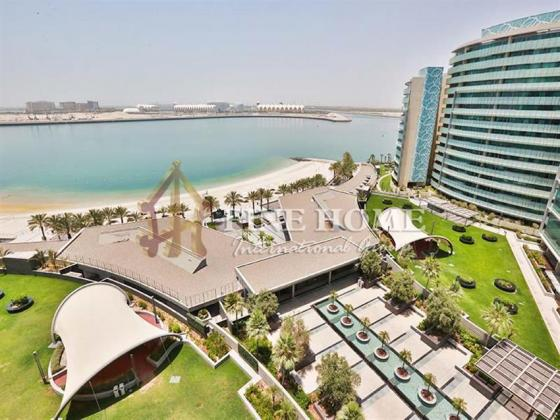 Beautiful Sea View, 2BR Apartment with Balcony