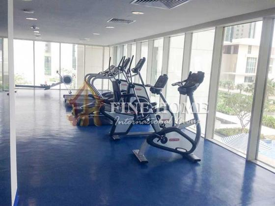 Fully furnished Sea View 1BR in Al Maha Tower