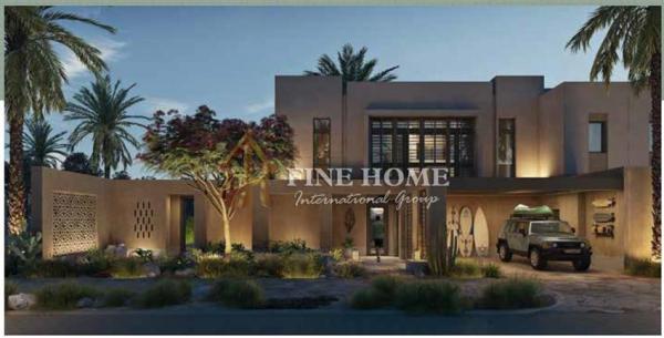 Semi Detached 4BR Villa for sale in Ghantout.