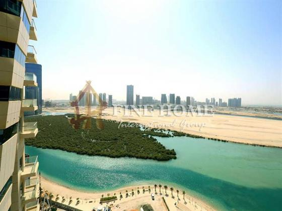 Beautiful Sea view, 2BR Apartment in Al Reem Island.
