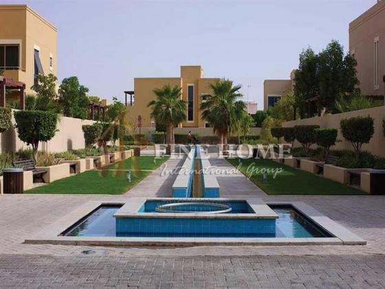 Three-Bedroom Apartment with Big Garden in  Al Raha Gardens.