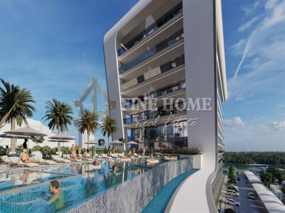 Luxurious 2BR Apartment in Yas Beach Residence