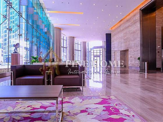 Ready to Move Full Furnished Office in Al Reem Island.