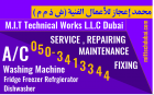 Ac Fridge Washing Machine Dishwasher Service Repair in Dubai