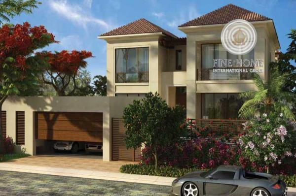 7BR, Beautiful Sea View Villa in Hidd Al Saadiyat