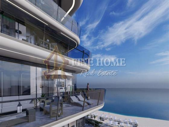 Buy your own 3BR Apt with Beach View Now!