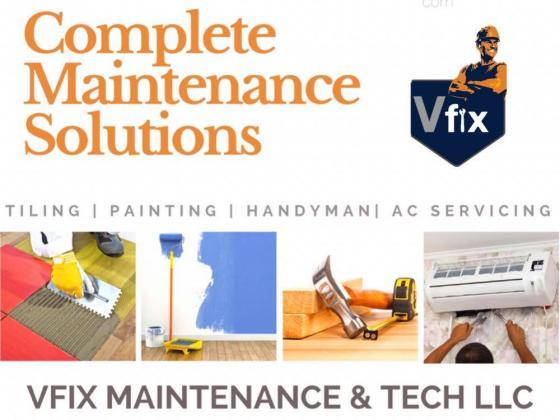Professional Cleaning Company in Dubai - VFix UAE